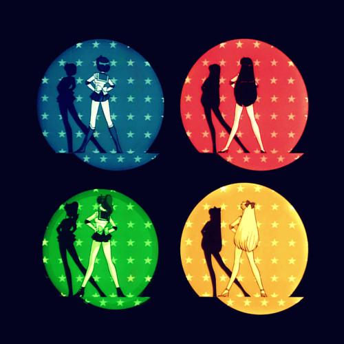 动画片 服装 异想世界/《美少女战士Crystal》月光、水星、火星、木星、金星5位仙子全在...