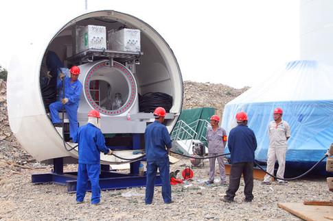 桐城市首台风力发电机组即将投运-新华网安徽频道
