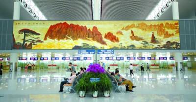 """新时代的安徽壁画为""""美好安徽""""代言,为""""文明城市""""""""美丽乡村""""添彩,在"""