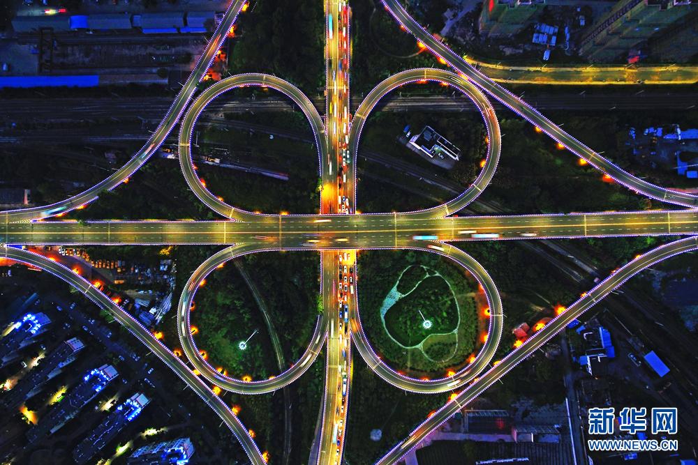 62.立交桥夜景 组图