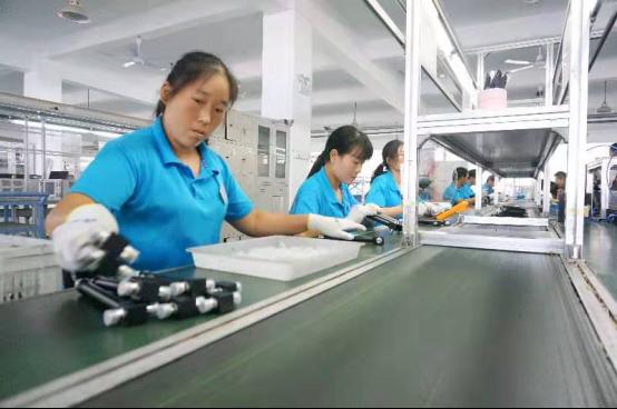 寿蜀产业园:工业扶贫助增收