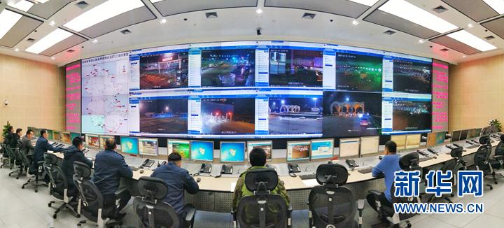 1月1日零时,安徽取消高速公路省界收费站工程并网切换