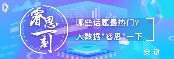 """睿思一刻·安徽(1月12日):安徽2019年""""成绩单""""公布 网民最关心啥?"""