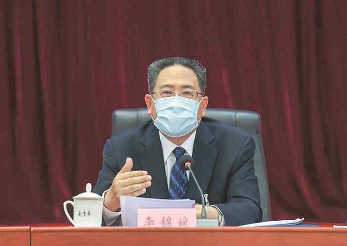 李锦斌审议政府工作报告