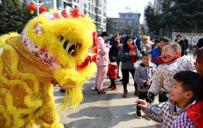合肥:民俗展演迎新春