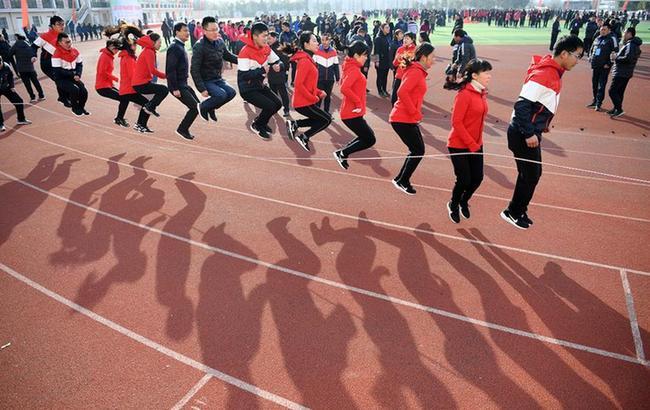 全民健身——趣味运动迎新春