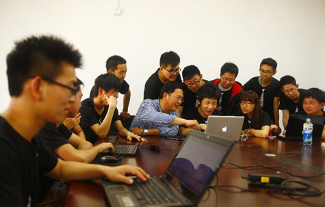 """你和我的""""口袋小安"""":一个大学生手机软件研发团队的科技之梦图片"""