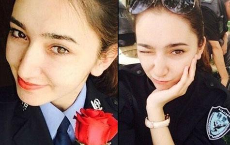 新疆美女反恐特警走红网络(组图)