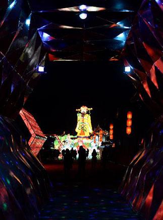 2015年西安城墻新春燈會開幕