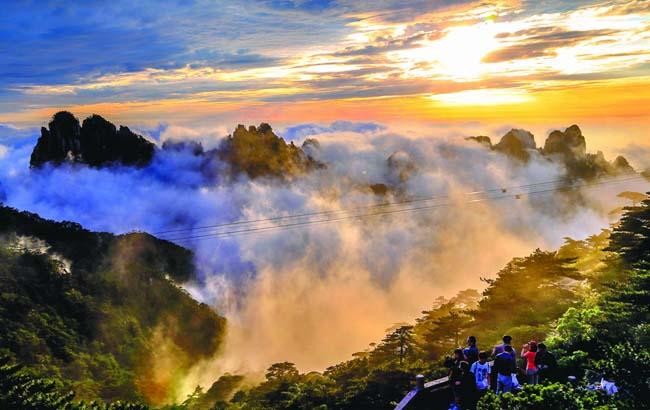 黄山风景区都有哪些景点如