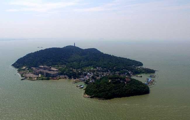 新華網安徽航拍:令人窒息!換個視角感受環巢湖之美