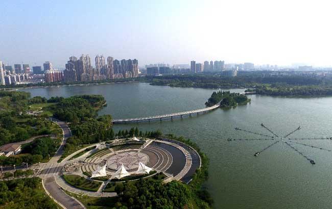 新華網安徽航拍:空中俯瞰合肥 美到心醉