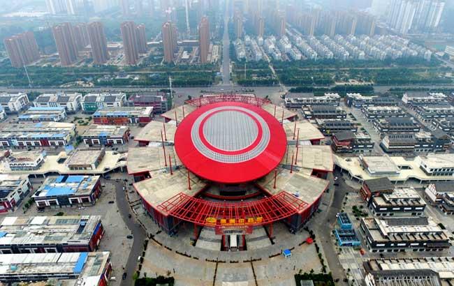 新華網新聞無人機隊安徽中隊飛赴美麗亳州 尋覓中華藥都的獨特魅力