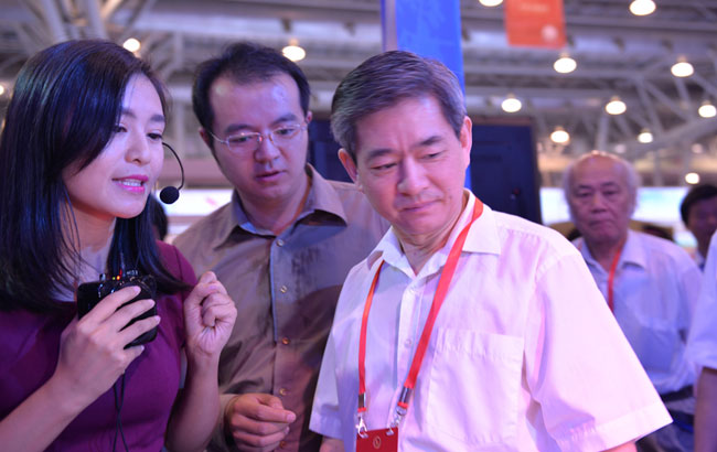 新華網新聞無人機隊安徽中隊亮相第九屆文博會