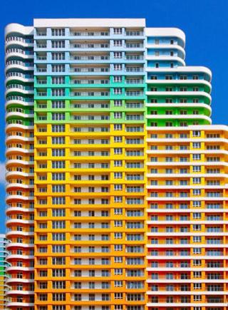 建筑师将伊斯坦布尔拍成彩虹之国