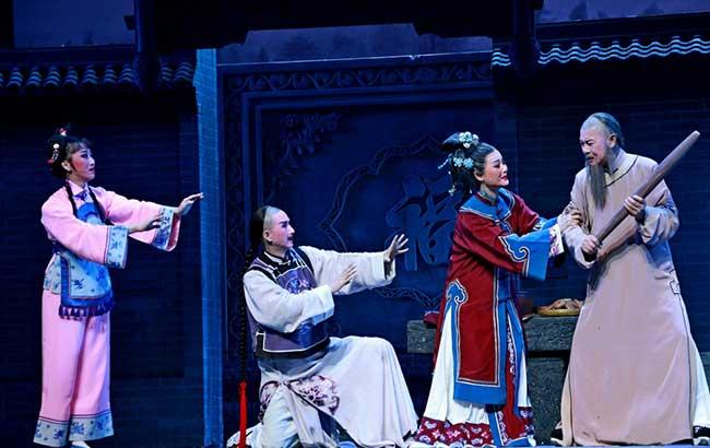 黄梅戏舞台剧《大清名相》在安徽大剧院震撼上演