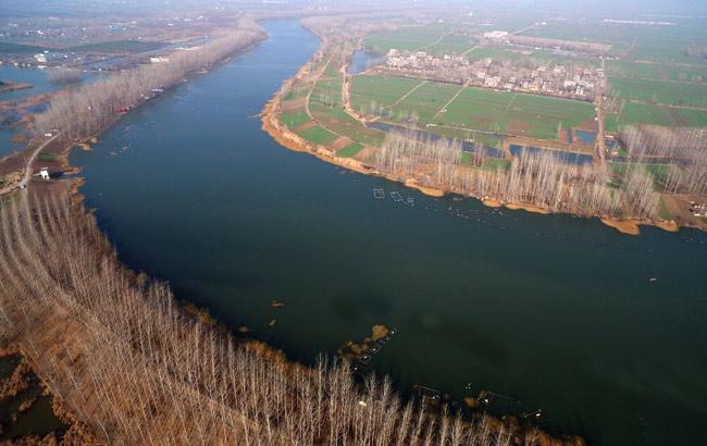 新華網安徽航拍:飛入皖北水鄉 俯瞰生態利辛