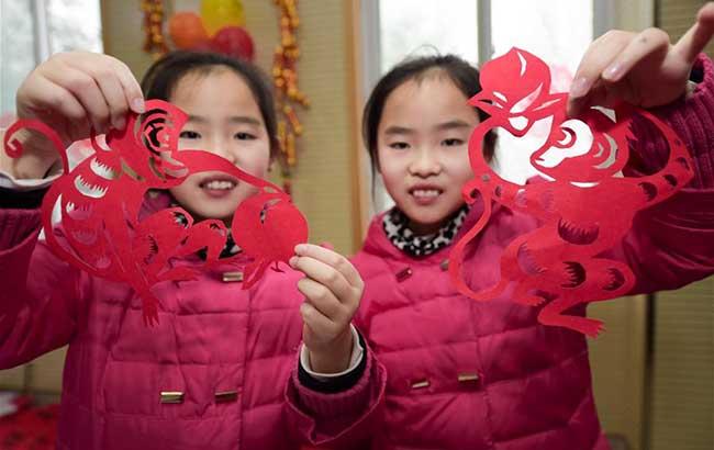 合肥:社區居民迎新春