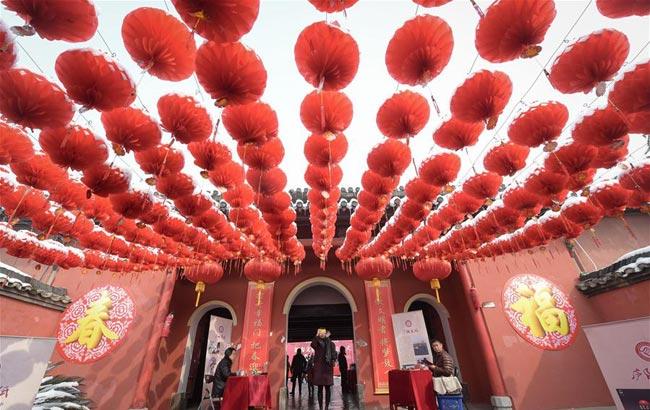 合肥:逛廟會 迎新春