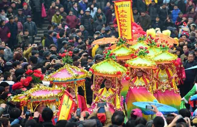 安徽:正月十六走太平