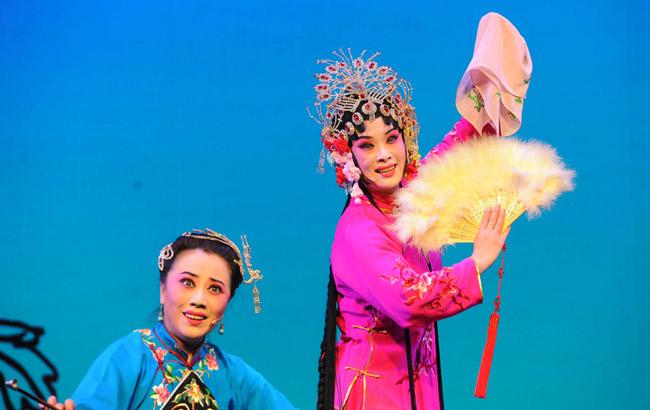 評劇《花為媒》驚艷亭城 中國評劇院亮出經典