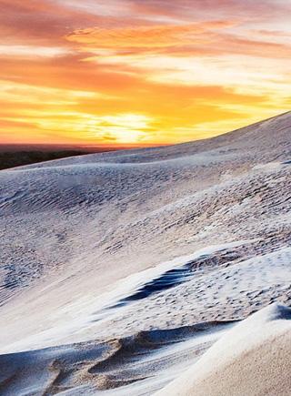 """實拍澳大利亞白沙漠""""超現實""""震撼美景"""