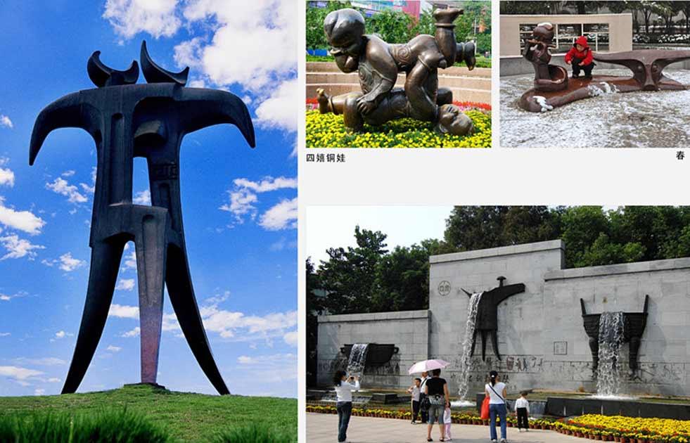 中國(guo)銅雕之城——銅陵