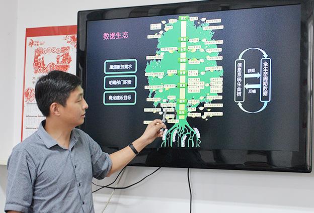 建成全国领先的市级政府大数据库,为方便群众办事提供有效信息支撑。