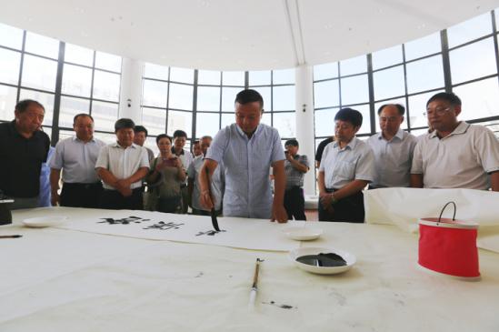 皖北書畫院在亳州幼師揭牌成立