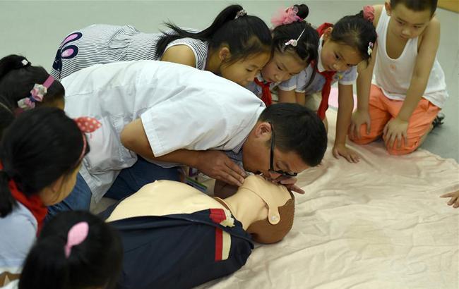 暑期學急救防溺水