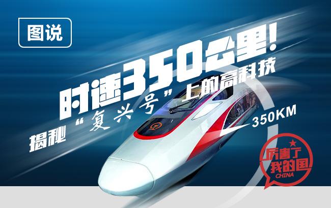 """时速350公里!揭秘""""复兴号""""上的高科技"""