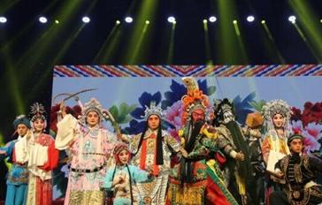 安徽传统戏曲赏析晚会在安徽大剧院上演