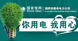 """""""你用電 我用心""""國網安徽省電力公司"""