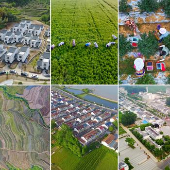 绿水青山似画卷 美丽乡村新图景
