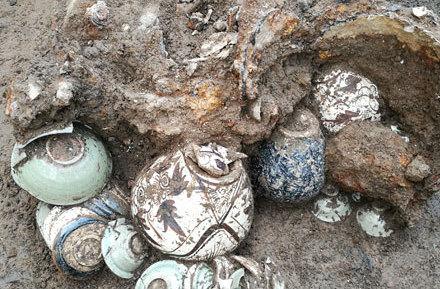 宿州灵璧出土一批金元时期窖藏瓷器