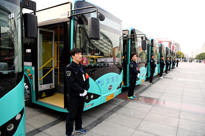 """""""我的公交我的城""""主题宣传活动在蚌埠启动"""