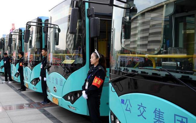 安徽蚌埠:大力发展绿色公共交通