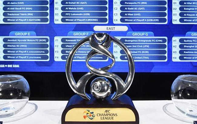 2018亚冠小组赛抽签结果出炉