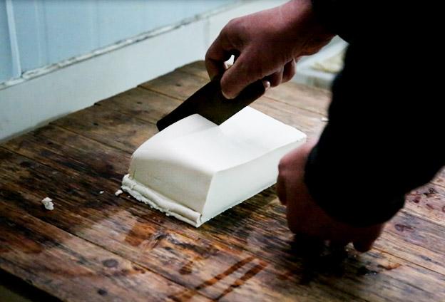 做豆腐,讲求个'细'字