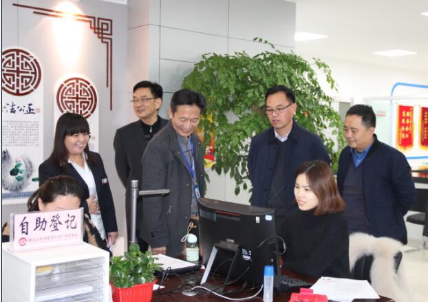 濉(sui)溪縣不(bu)動產登記中心開通自助(zhu)登記服務