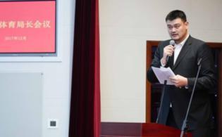 姚明:中国篮球发展战略规划已基本完成