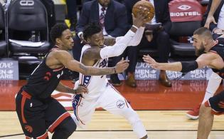 NBA常规赛:猛龙胜76人