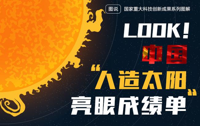 """LOOK!中国""""人造太阳""""亮眼成绩单"""