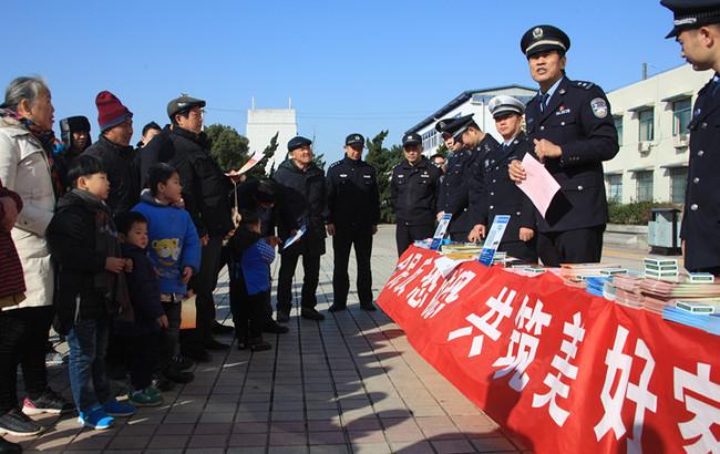 """巢湖市公安局積極開展""""110宣傳日""""活動"""