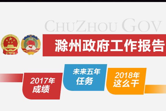 滁州政府工作报告