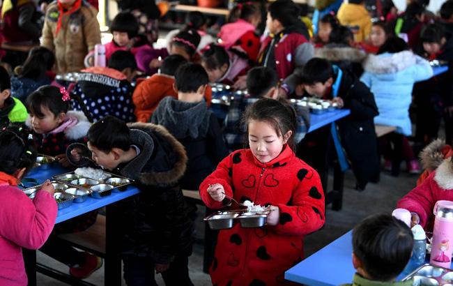 安徽:免費營養餐覆蓋學生超150萬
