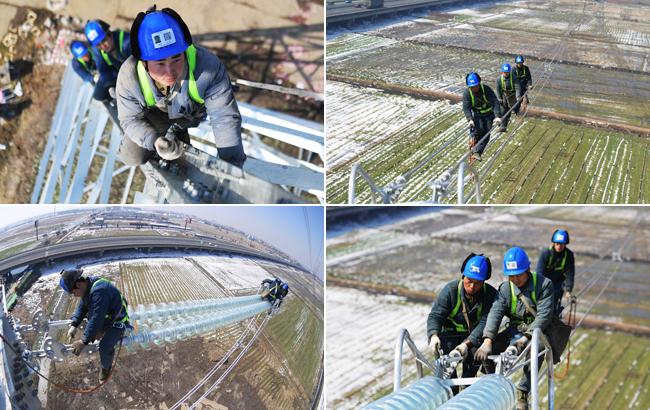 安徽因雪災受損的500千伏輸電線路全部修復