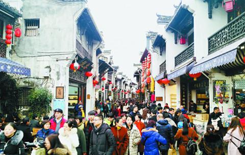 長假前5日安徽接待遊客2591.82萬人次