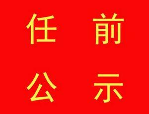 滁州發布29名縣級幹部任前公示公告