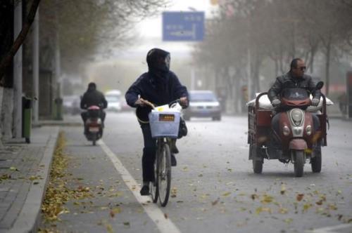 安徽省最低溫逼近0℃
